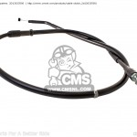 CABLE. CLUTCH | partno. 2D12633500  | http://www.cmsnl.com/products/cable-clutch_2d12633500/CMS - Parts For A Better Ridecmsnl.com