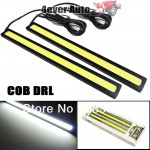 Free-Shipping-High-Power-New-12W-COB-LED-DRL-light-Waterproof-Bumper-Decorative-Sticker-Fog-Headlight